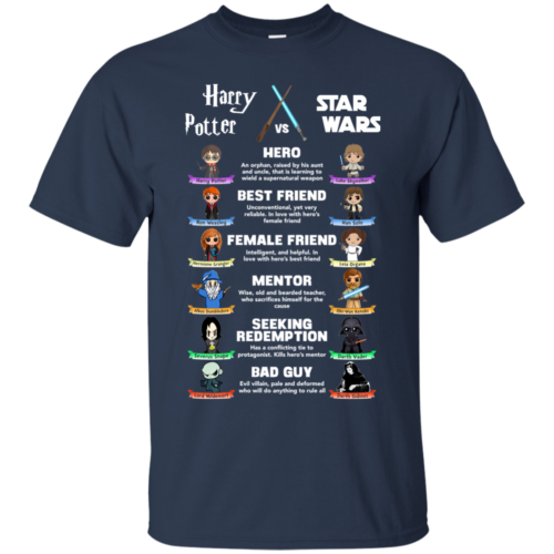 Harry Potter vs Star Wars tshirt, tank, hoodie