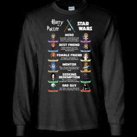 Harry Potter vs Star Wars tshirt, tank, hoodie