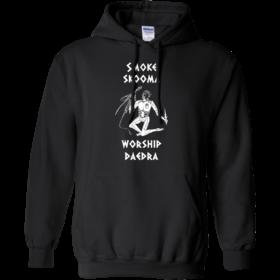 Skyrim Smoke Skooma Worship Daedra unisex t shirt, tank, hoodie, sweater