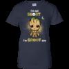 I'm not short I'm Groot size tshirt, tank, hoodie