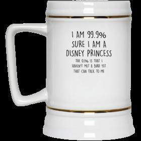 I Am 99% Sure I Am A Disney Princess Coffee Mugs
