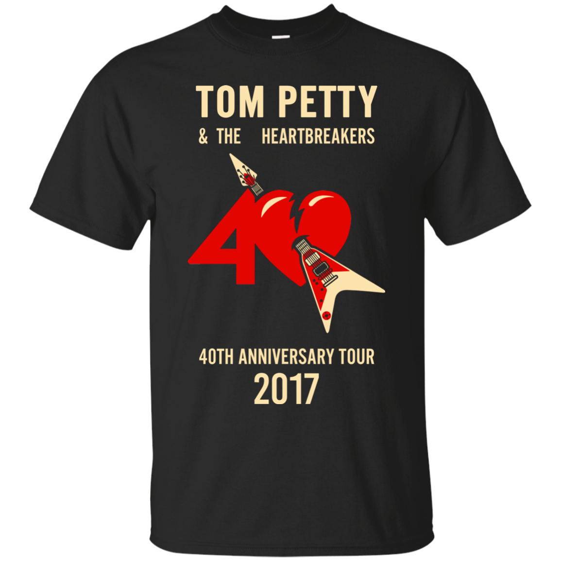 tom petty the heartbreakers 40th anniversary tour 2017. Black Bedroom Furniture Sets. Home Design Ideas
