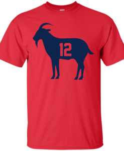 Goat Tb 12 Tom Brady T Shirt, Hoodies, Tank