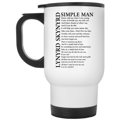 Lynyrd Skynyrd Simple Man Coffee Mugs