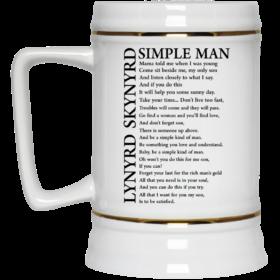 Lynyrd Skynyrd Simple Man Coffee Mugs