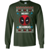 DeadPool Christmas Sweater, Tshirt, Long Sleeve