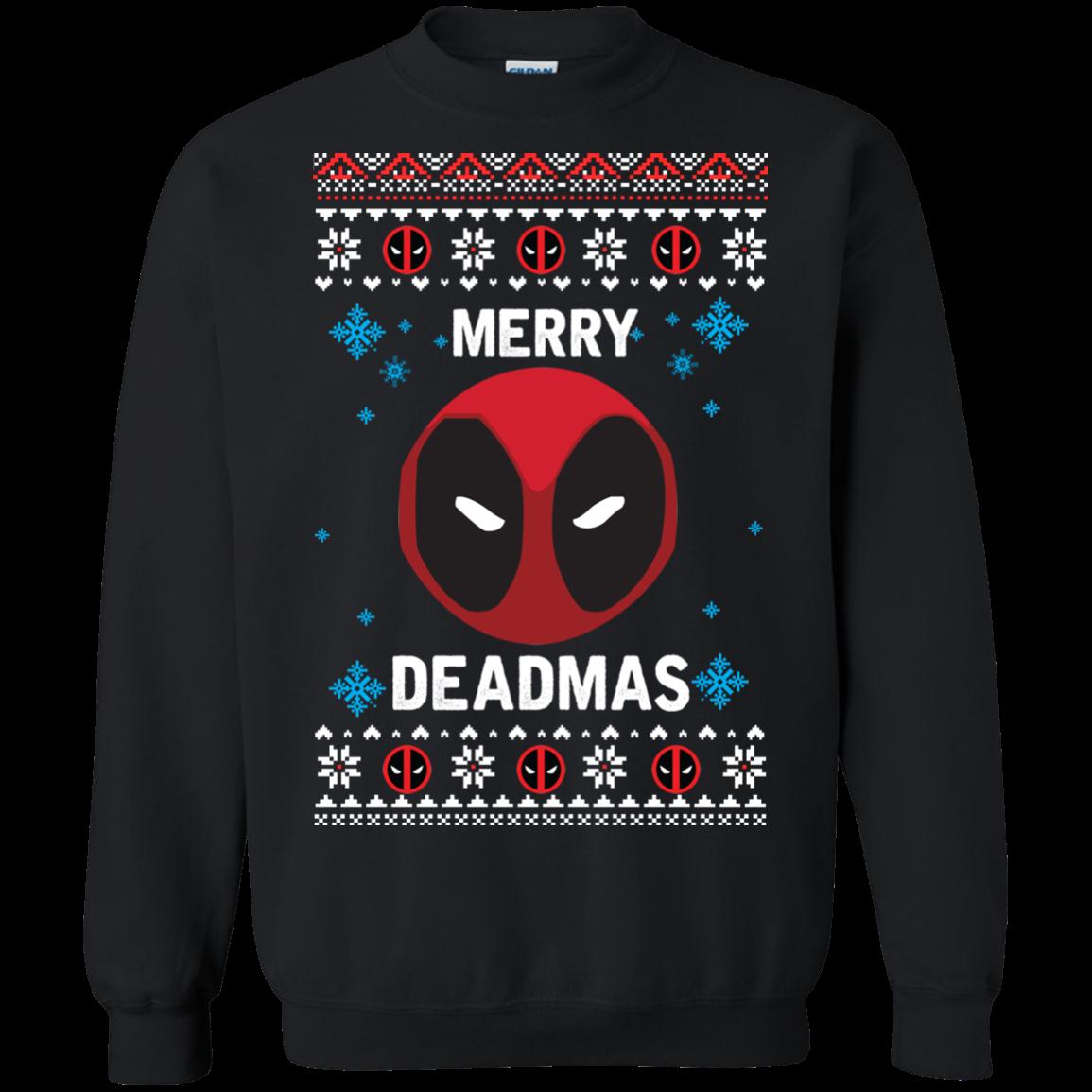DeadPool Christmas Sweater, Tshirt, Long Sleeve ...  Deadpool Christmas Sweater