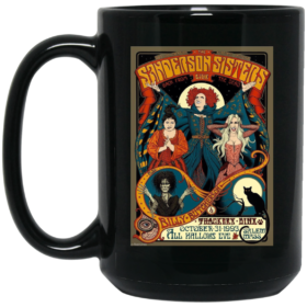 Sanderson Sisters Vintage Tour Poster Coffee Mugs