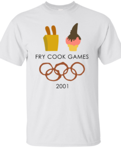 Fry Cook Games 2001 Tshirt, Tank, Sweater