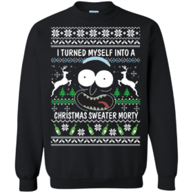 Rick and Morty: Tis the Season to Get Riggity Riggity Wrecked Son Christmas Sweater