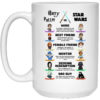 Harry Potter vs Star Wars Coffee Mugs
