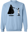 Stranger Things Eleven vs Darth Vader Tshirt, Tank, Sweater