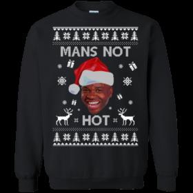 Roadman Christmas Shirt : The Thing Go Skraaa Mans Not Hot Tshirt, Sweater