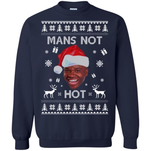 Roadman Christmas Shirt : The Thing Go Skraaa Mans Not Hot Tshirt, Sweater
