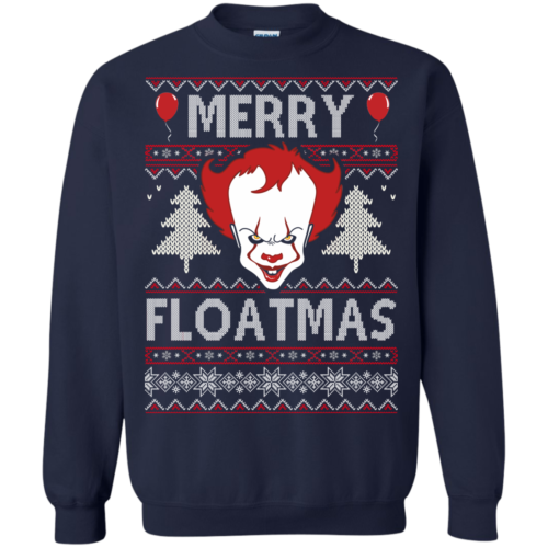 Pennywise Christmas Sweater: Merry Floatmas Sweater