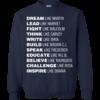 Black Lives Matter: Dream Like Martin, Lead Like Harriet Tshirt, Tank, Sweatshirt