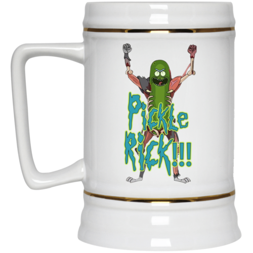 Rick and Morty: Pickle Rick Coffee Mugs