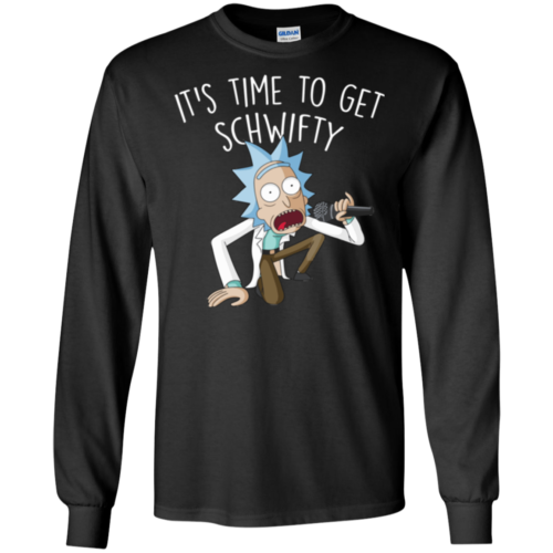 Rick and Morty It's Time to Get Schwifty TShirt, Tank, Hoodie