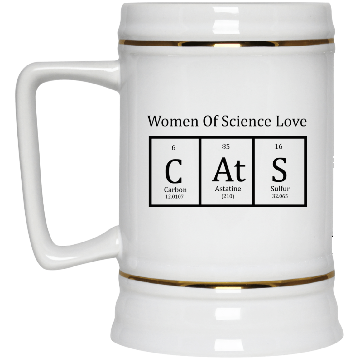 Cat Periodic Table Women Of Science Coffee Mug Robinplacefabrics