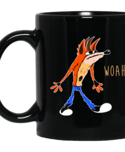Crash Bandicoot : Woah Coffee Mugs