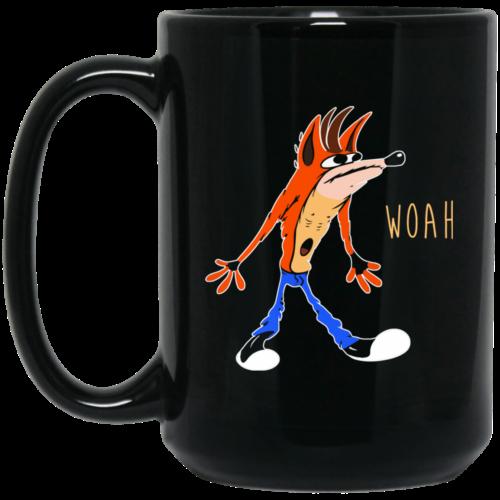 Crash Bandicoot : Woah Coffee Mugs