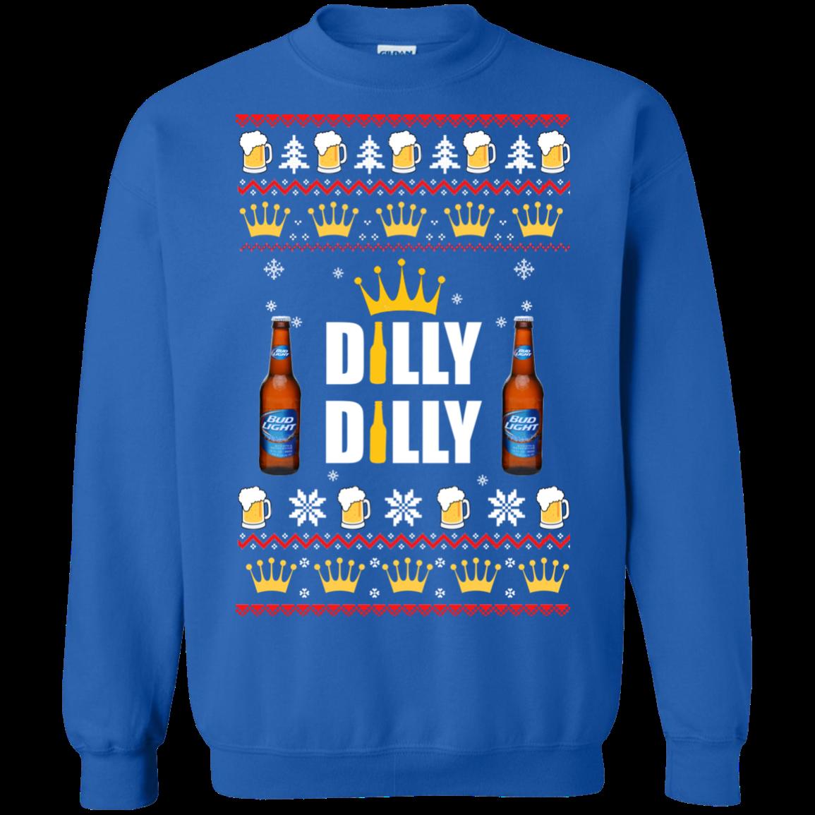 Bud Light Dilly Dilly Christmas Sweater Robinplacefabrics