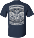 Airborne Death from above Tshirt, Long sleeve