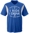 Cycling Jersey: That's what I do, I ride, I drink and I know things