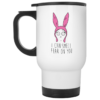 Louise Belcher Mug: I Can Smell Fear On You Coffee Mugs