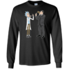 Funny shirt: Rick and Archer drink wine t shirt, tank, long sleeve