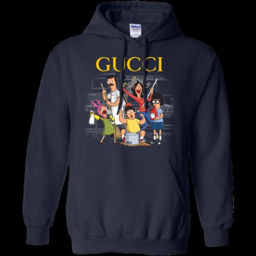 Gucci Bob's Burgers unisex t shirt, tank, long sleeve, hoodie