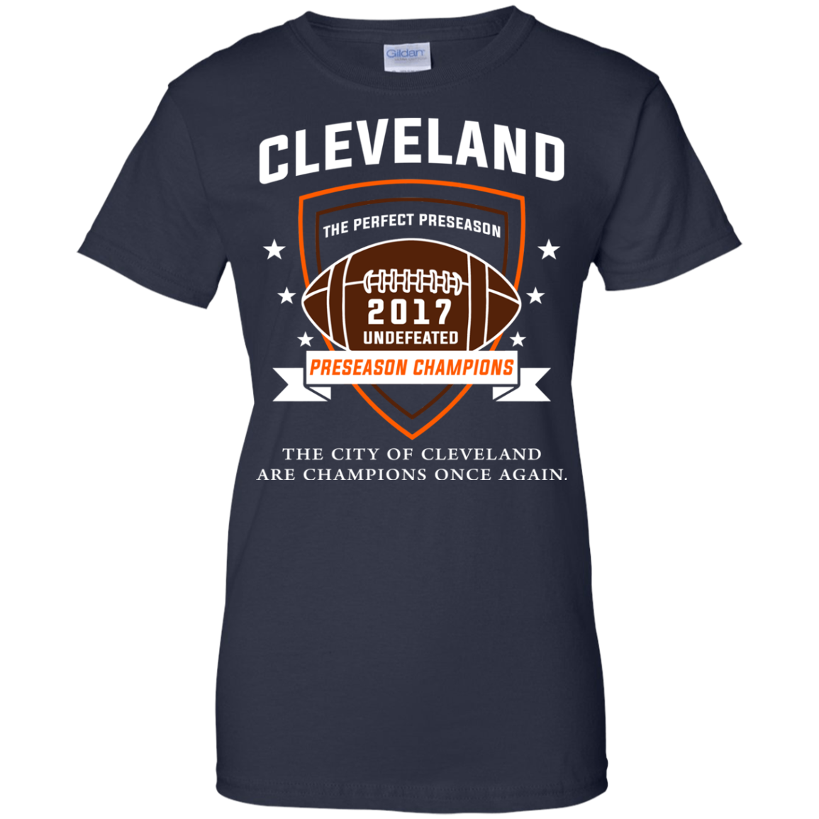 Football Gas Tank : Cleveland football undefeated preseason champions