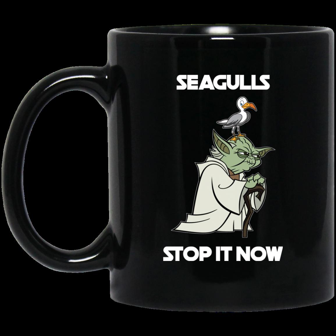 177346ec47e Seagulls - Stop It Now Coffee Mugs - RobinPlaceFabrics