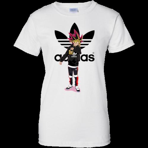 Muto Yugi Dab Adidas unisex t shirt, tank, long sleeve