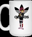 Muto Yugi Dab Adidas Coffee Mugs