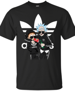Rick and Morty Adidas Mashup t shirt, tank, long sleeve