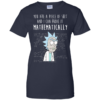 Rick and Morty: Mathematically , I can prove it mathematically t shirt, tank, long sleeve