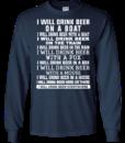 I Will Drink Beer Everywhere t shirt, long sleeve, hoodie