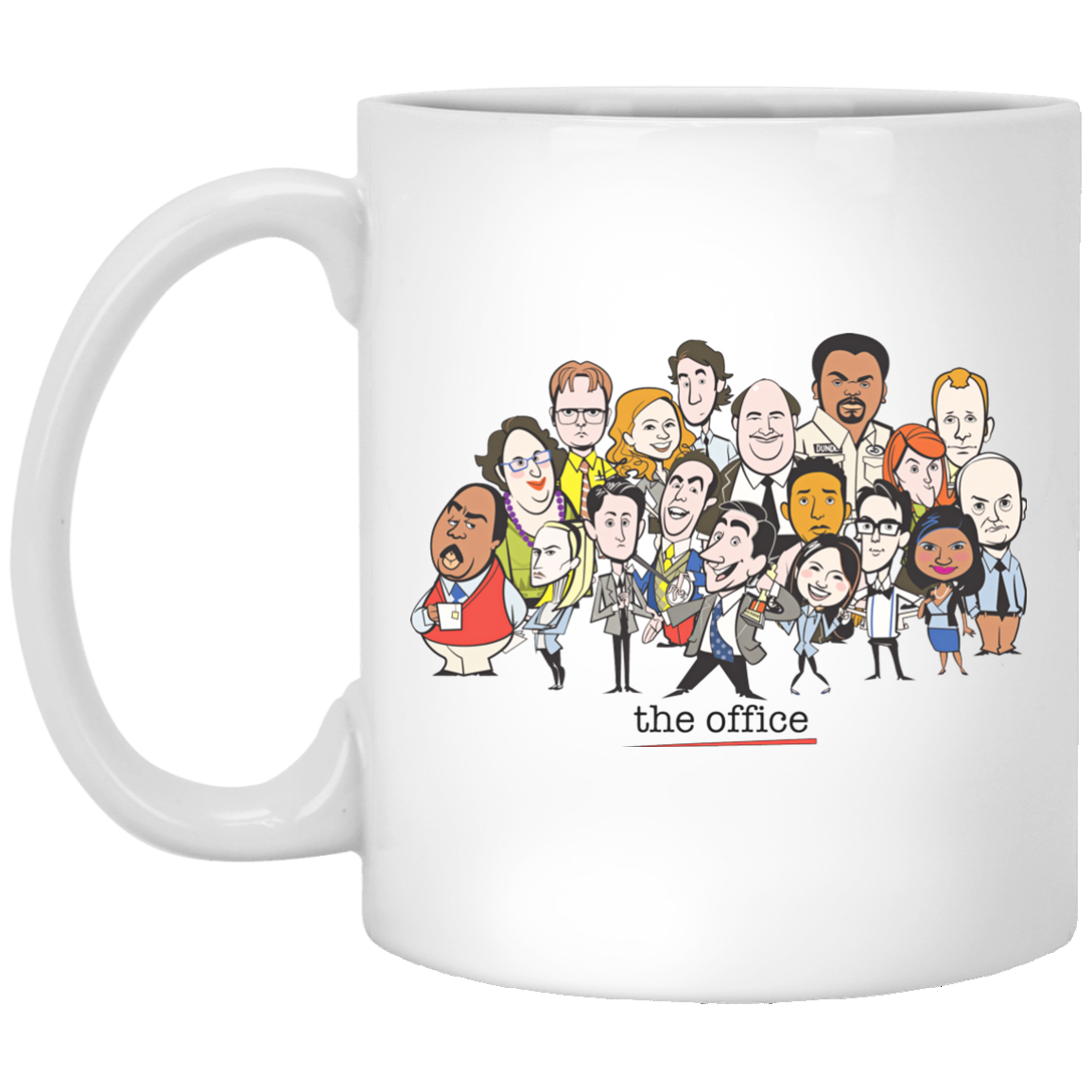 The Office Cartoons Character Coffee Mugs Robinplacefabrics