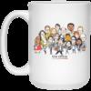 The Office Cartoons Character Coffee Mugs