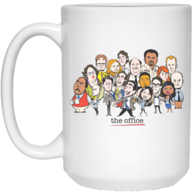 The Office Cartoons Character Coffee Mugs
