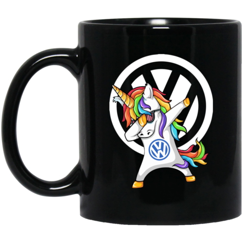Speed Addict VW Unicorn Dabbing Coffee Mugs