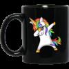 Unicorn Dabbing Coffee Mugs