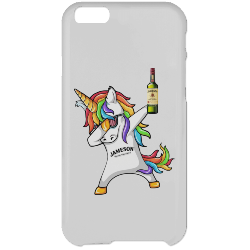 Jameson Irish Whiskey Unicorn Dabbing Mugs, iPhone 6 Case