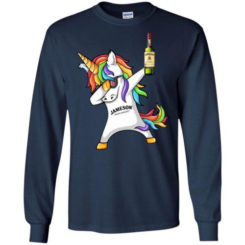 Jameson Irish Whiskey Unicorn Dabbing t shirt, long sleeve, hoodie