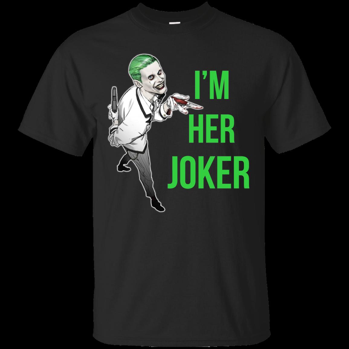 8c626026 Her Joker - His Harley Quinn t shirt, long sleeve, hoodie -  RobinPlaceFabrics