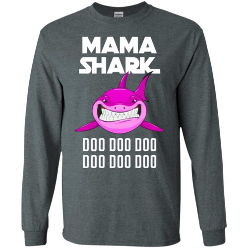 Mama Shark Doo Doo Doo t shirt, long sleeve, hoodie