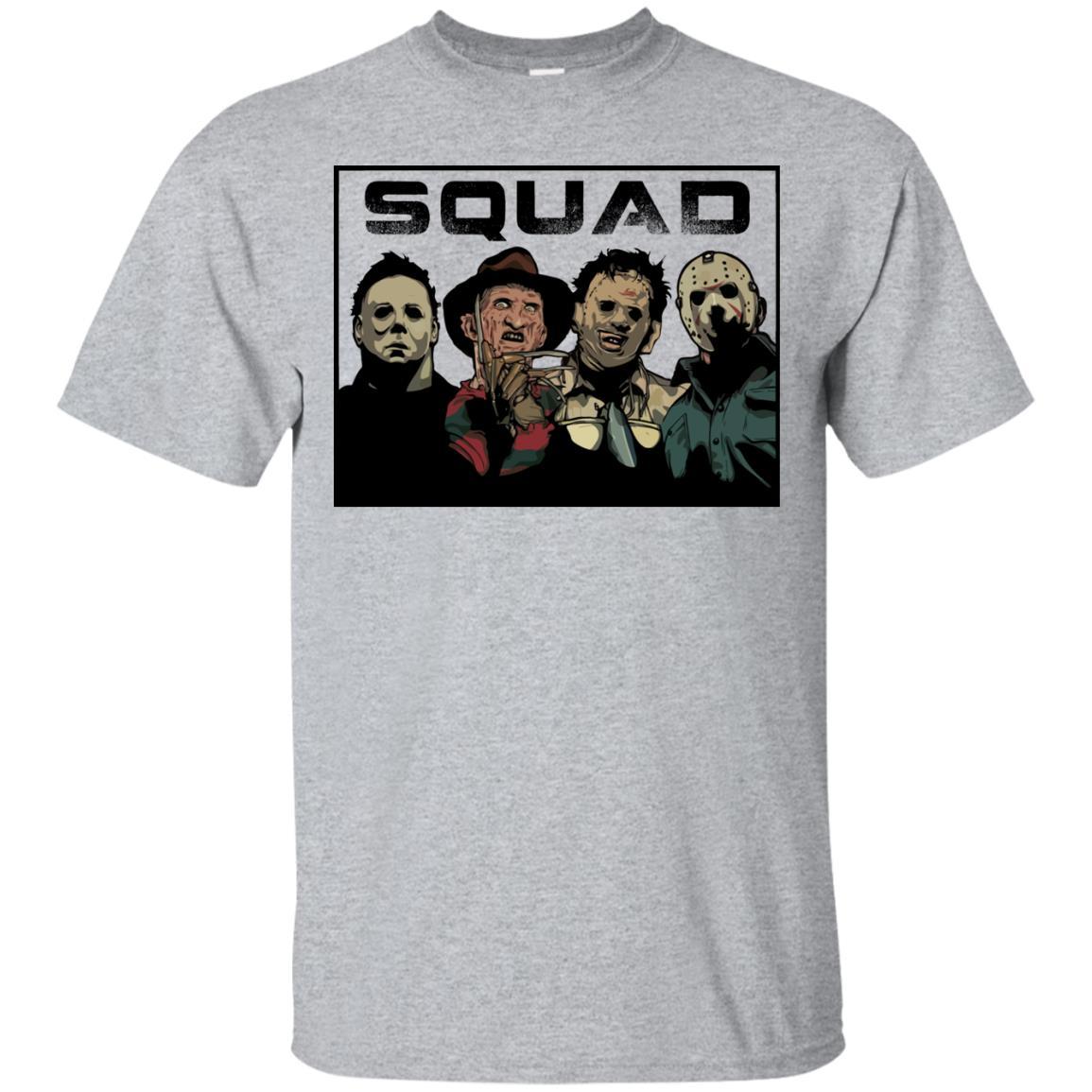 66f985bf41f The Nightmare Squad  Michael Myers - Krueger - Leatherface - Jason t ...