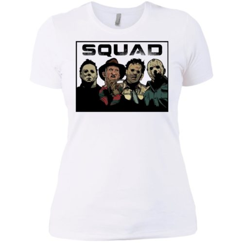The Nightmare Squad: Michael Myers Krueger Leatherface Jason t shirt, tank, long sleeve