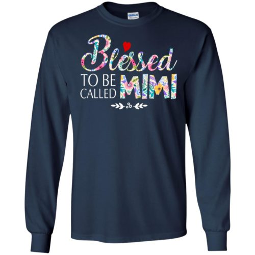 Blessed to be called mimi t shirt, tank top, hoodie